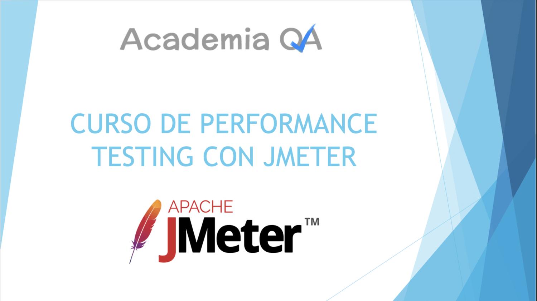 Curso de performance testing con Jmeter