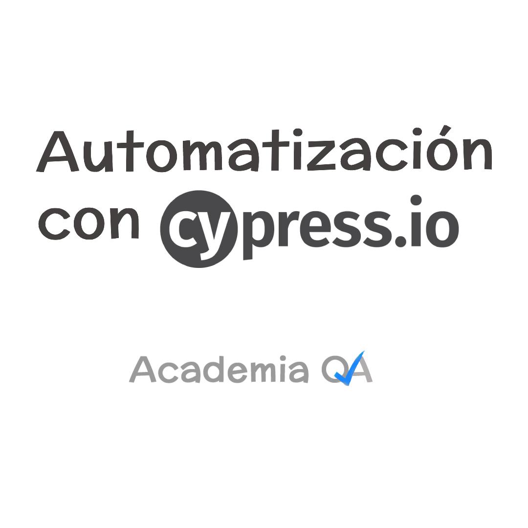 Curso de Cypress